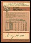 1978 O-Pee-Chee #29  Garry Howatt  Back Thumbnail