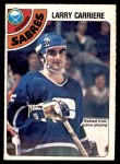 1978 O-Pee-Chee #272  Larry Carriere  Front Thumbnail