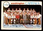 1978 O-Pee-Chee #208   Capitals Team Front Thumbnail