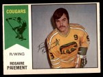 1974 O-Pee-Chee WHA #7  Rosaire Paiement  Front Thumbnail