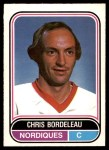 1975 O-Pee-Chee WHA #116  Chris Bordeleau  Front Thumbnail