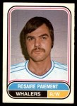 1975 O-Pee-Chee WHA #106  Rosaire Paiement  Front Thumbnail