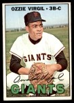 1967 Topps #132  Ozzie Virgil  Front Thumbnail