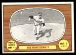 1967 Topps #151   -  Moe Drabowsky 1966 World Series - Game #1 - Moe Mows Down 11 Front Thumbnail