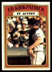 1972 Topps #570   -  Ed Kirkpatrick In Action Front Thumbnail