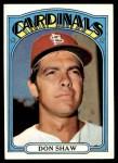 1972 Topps #479  Don Shaw  Front Thumbnail