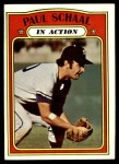 1972 Topps #178   -  Paul Schaal In Action Front Thumbnail