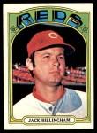 1972 Topps #542  Jack Billingham  Front Thumbnail