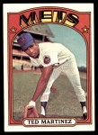 1972 Topps #544  Ted Martinez  Front Thumbnail