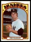 1972 Topps #287  Jim Hardin  Front Thumbnail