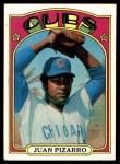 1972 Topps #18 GRN Juan Pizarro  Front Thumbnail