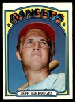 1972 Topps #191  Jeff Burroughs  Front Thumbnail