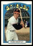 1972 Topps #418  Tom Shopay  Front Thumbnail
