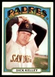 1972 Topps #412  Dick Kelley  Front Thumbnail