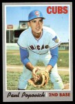 1970 Topps #258  Paul Popovich  Front Thumbnail
