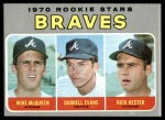 1970 Topps #621   -  Darrell Evans / Mike McQueen / Rick Kester Braves Rookies Front Thumbnail