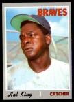 1970 Topps #327  Hal King  Front Thumbnail