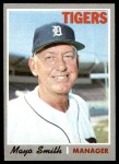 1970 Topps #313  Mayo Smith  Front Thumbnail