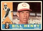 1960 Topps #524  Bill Henry  Front Thumbnail