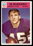 1966 Philadelphia #112  Ed Sharockman  Front Thumbnail