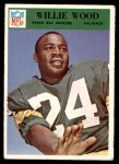 1966 Philadelphia #90  Willie Wood  Front Thumbnail