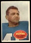 1960 Topps #35  L.G. Dupre  Front Thumbnail
