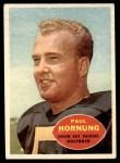 1960 Topps #54  Paul Hornung  Front Thumbnail