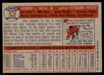1957 Topps #52  Lee Walls  Back Thumbnail