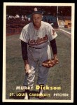 1957 Topps #71  Murry Dickson  Front Thumbnail