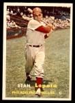 1957 Topps #119  Stan Lopata  Front Thumbnail