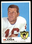 1969 Topps #232  George Blanda  Front Thumbnail