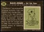 1969 Topps #238  Deacon  Jones  Back Thumbnail