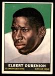 1961 Topps #159  Elbert Dubenion  Front Thumbnail