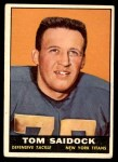 1961 Topps #155  Tom Saidock  Front Thumbnail