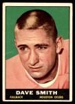 1961 Topps #141  Dave Smith  Front Thumbnail