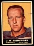 1961 Topps #29  Jim Ninowski  Front Thumbnail