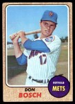 1968 Topps #572  Don Bosch  Front Thumbnail
