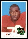 1969 Topps #153  Bobby Bell  Front Thumbnail