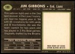 1969 Topps #189  Jim Gibbons  Back Thumbnail