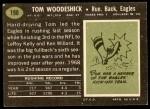 1969 Topps #198  Tom Woodeshick  Back Thumbnail