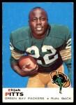 1969 Topps #102  Elijah Pitts  Front Thumbnail