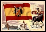 1956 Topps Flags of the World #54   Spain Front Thumbnail