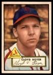 1952 Topps #280  Cloyd Boyer  Front Thumbnail