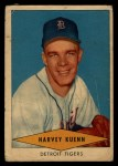 1954 Red Heart #15  Harvey Kuenn     Front Thumbnail