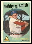 1959 Topps #162  Bobby Gene Smith  Front Thumbnail