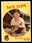 1959 Topps #88  Herb Score  Front Thumbnail