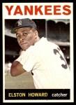1964 Topps #100  Elston Howard  Front Thumbnail