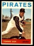 1964 Topps #224  Tommie Sisk  Front Thumbnail