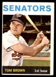 1964 Topps #311  Tom Brown  Front Thumbnail