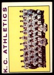 1964 Topps #151 ERR  Athletics Team Front Thumbnail